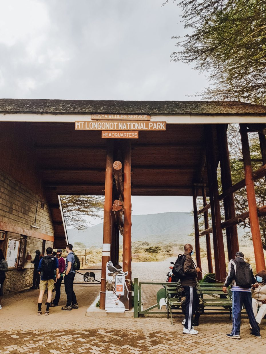 Mount Longonot Entrance Gate