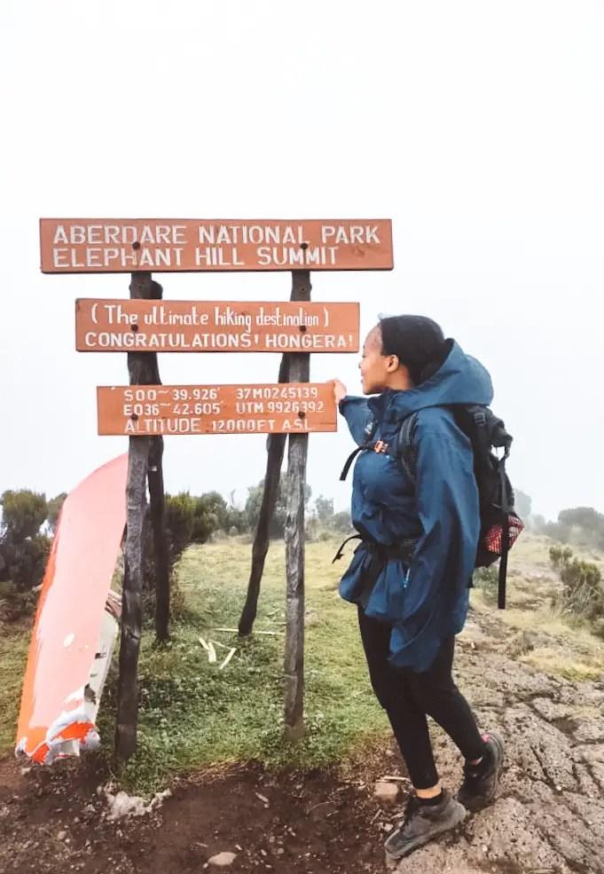 Elephant Hill Summit