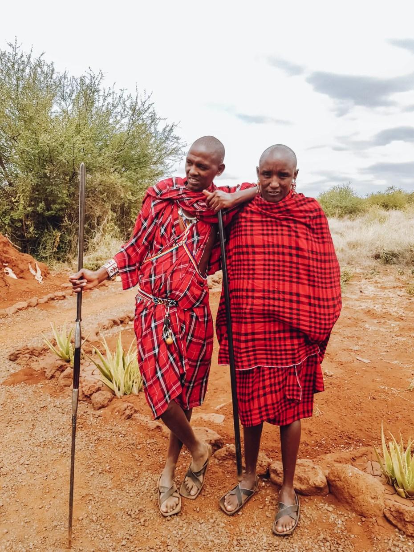 Massai Men Amboseli