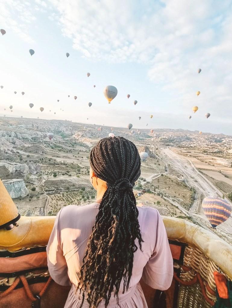Voyager Balloon Flight Turkey