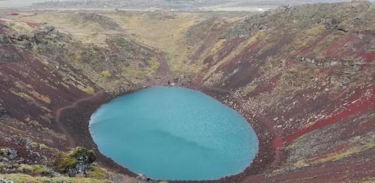 Craterul Kerid, Islanda