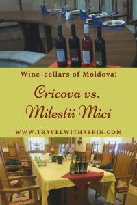 Wine-cellars of Moldova Cricova vs Milestii Mici