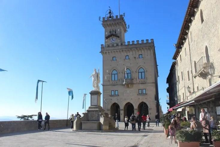 Palazzo Publico and Piazza de la Liberta