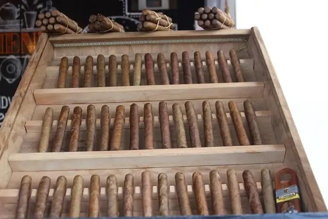 Cigars Cuba Vinales souvenirs