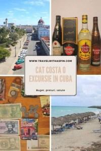 Cat costa o excursie in Cuba buget