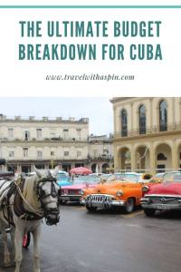 The ultimate budget breakdown for Cuba