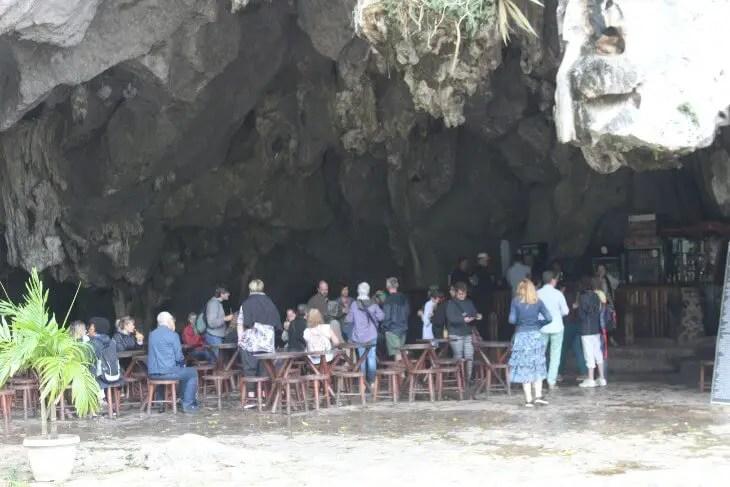 Bar at the entrance to Palenque de los Cimarrones