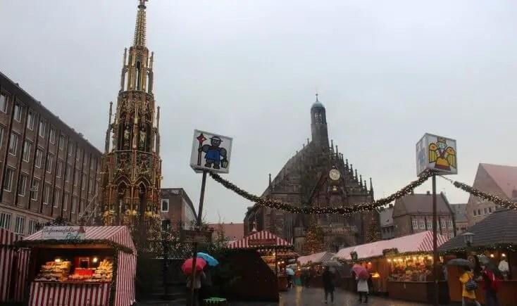 Christkindlesmarkt Nuremberg Germany