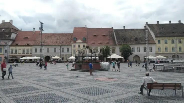 The Big Square, Sibiu, 1 decembrie