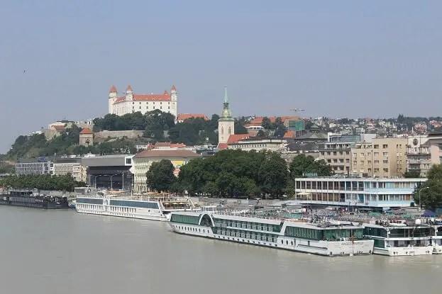 castle bratislava view day