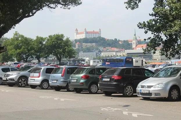 parking place bratislava