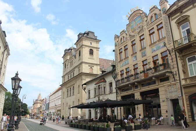Slavia - one of the finest restaurants in Kosice