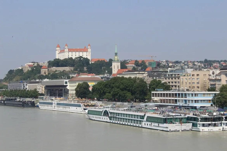 Bratislava by day