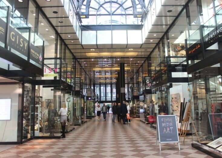 Louise shopping galleries, Germany