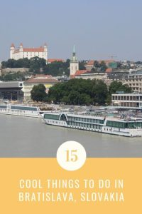 quick guide of the cool things to do in Bratislava Slovakia