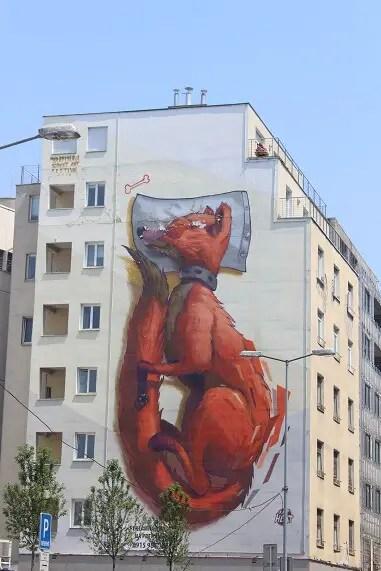 street art in Bratislava