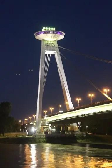 UFO by night