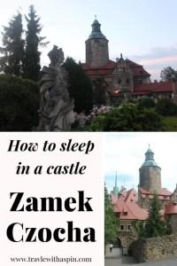 Night at the castle Zamek Czocha travel to Poland