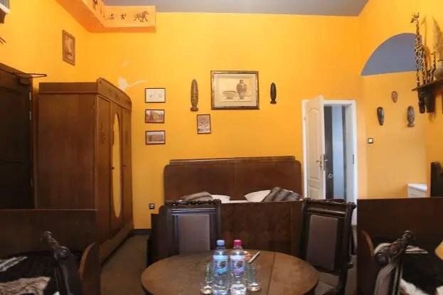 Room at Zamek Czocha