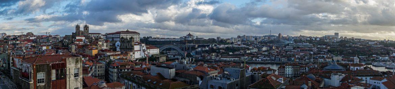 Wandeling door Porto uitzicht Miradoura