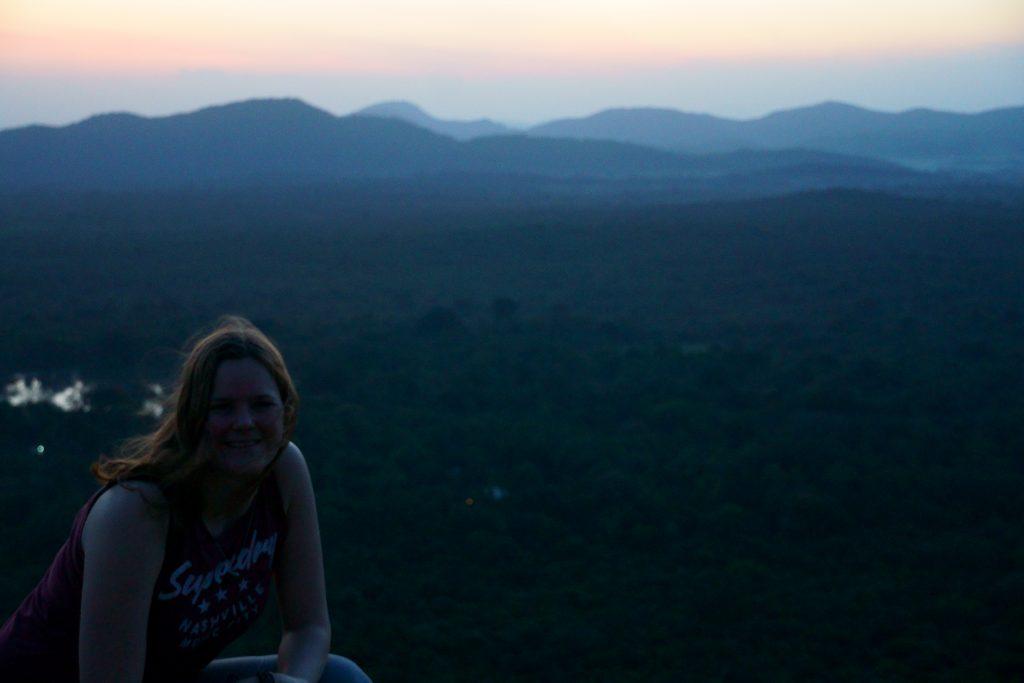 Sigiriya en Pidurangala beklimmen, zonsondergang
