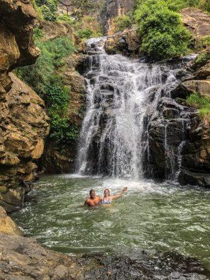 Ravanna Waterfall, Sri Lanka