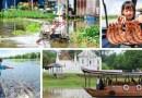 เที่ยวอุทัย ล่องเรือแม่น้ำสะแกกรัง สัมผัสชีวิตชาวแพ