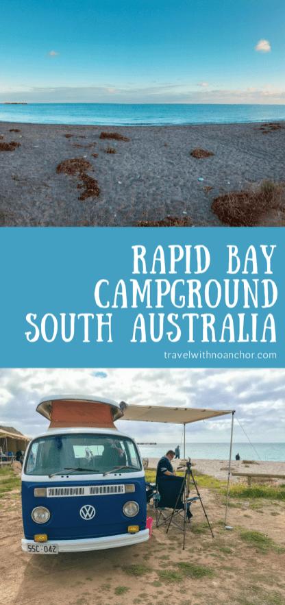 Rapid Bay Camping Review, Fleurieu Peninsula, South Australia #rapidbay #campground #southaustralia #camping #vw