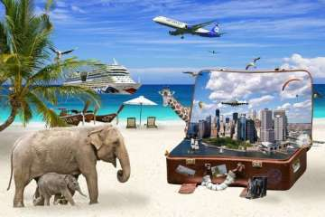 Holiday Luggage, Travel and Explore
