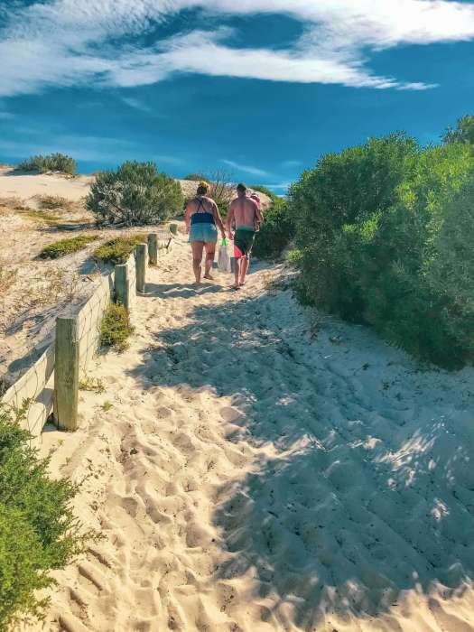 Big4 West Beach Holiday Park - 2nd access to West Beach over sand dunes