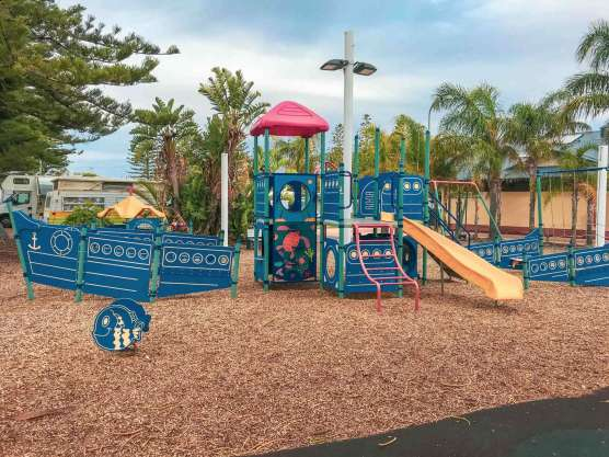 Big4 West Beach Holiday Park - kids play area