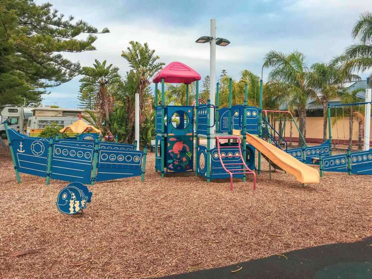Big4 West Beach Holiday Park - kids play area