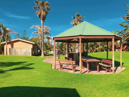 Big4 West Beach Holiday Park outdoor area
