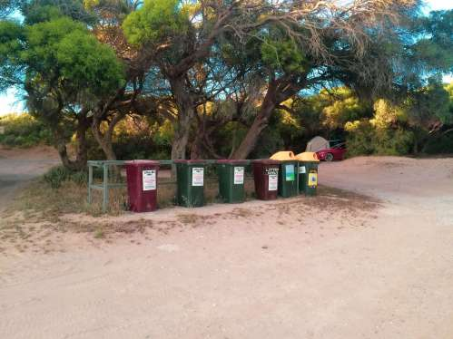 Gleeson's Landing Campground bins