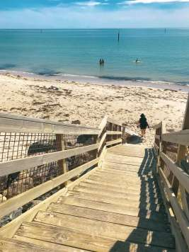 West Beach steps from Big4 West Beach Holiday Park