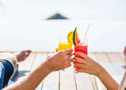 Drinking Cocktails on the beach - best beach bars in Australia