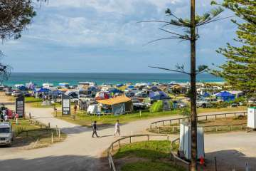 Busy weekend at Rapid Bay Campground #rapidbay #camping #campground #southaustralia #fleurieupeninsula