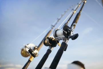 Fishing Charter Fishing Rods on Adelaide Fishing Charter