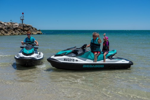 Fun with all the family with Wild Ride Jet Ski Hire Adelaide