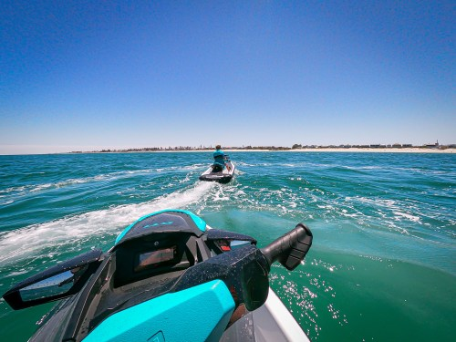 Out on the water with Wild Rides Jet Ski Hire Adelaide