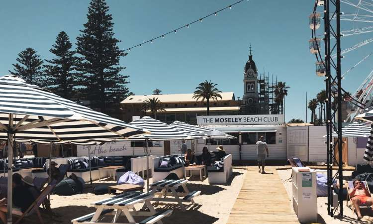 The Moseley Beach Club, Beach Club Adelaide