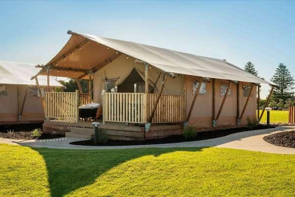 West Beach Safari Tents External