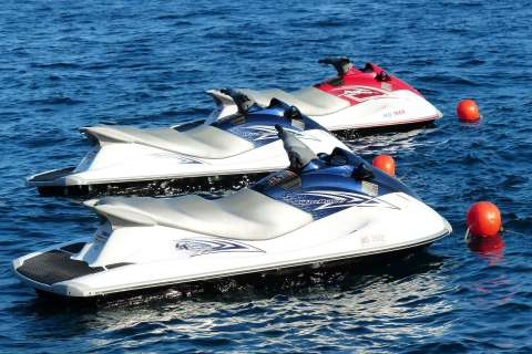 Jet Skis on the water - The Best Jet Ski hire in the Gold Coast
