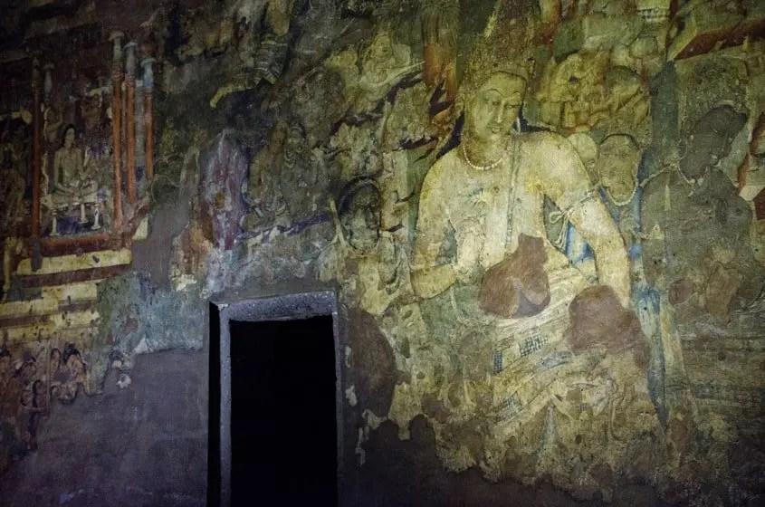 Grotta 1 di Ajanta