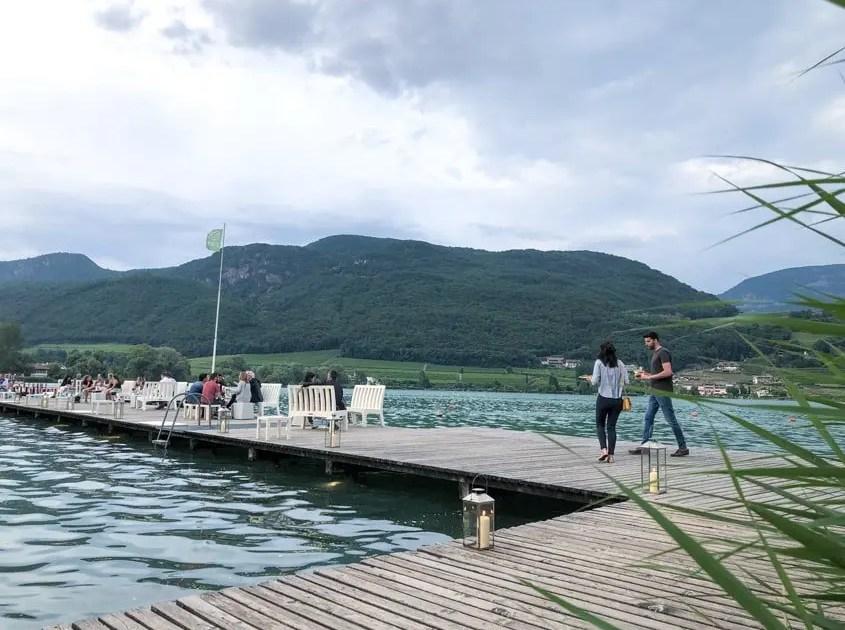 Aperitivo sul Lago di Caldaro
