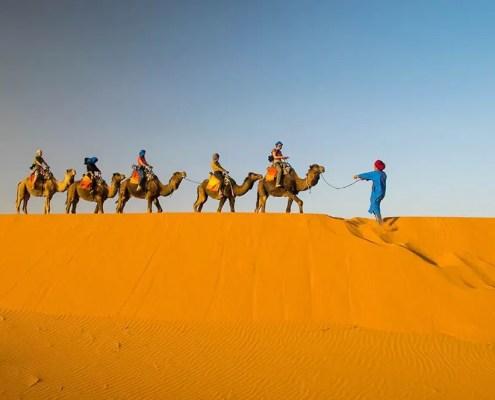 il deserto del viaggio in Marocco di Lorenza