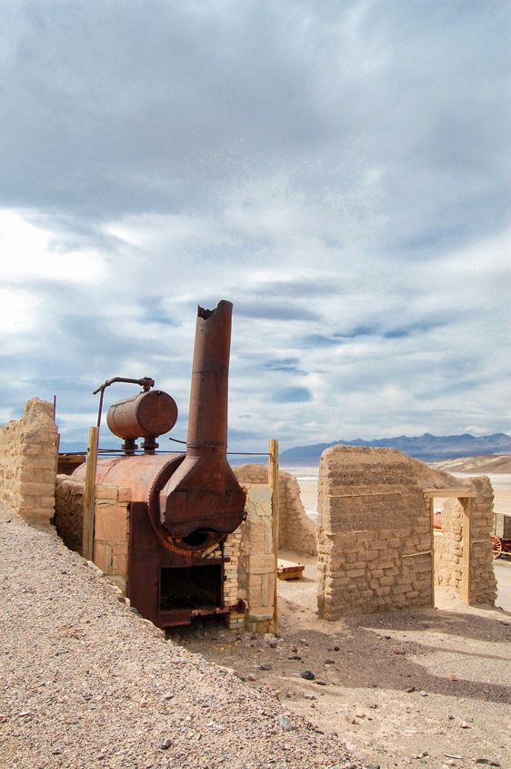 Death Valley Harmony Borax Works