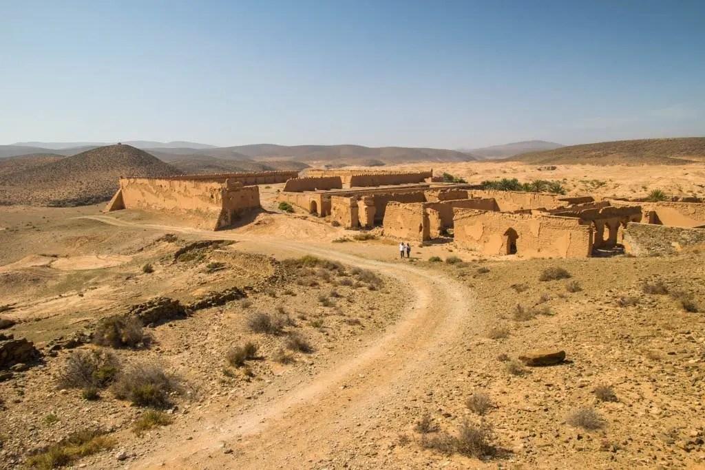 tappa del tour del Marocco in 4x4: visita al forte di Boujrif