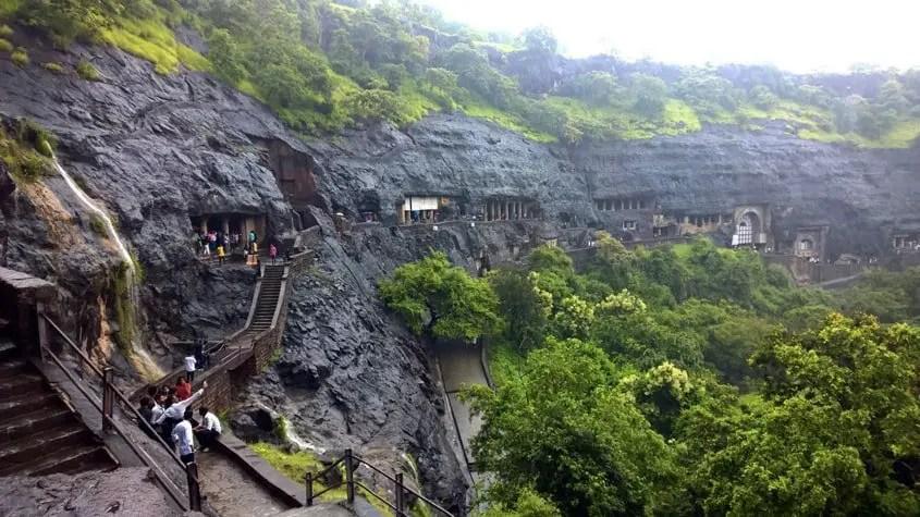 le grotte di Ajanta