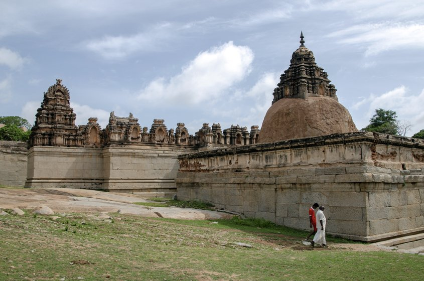 Hampi Tempio di Ragunatha